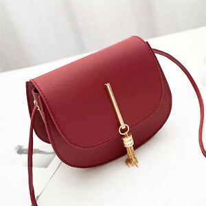 NEW Ladies Cross body Flap Messenger Women Shoulder Over Bags PU Lather Handbags