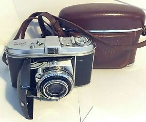 Kodak Retina 1b Ib Type 018 35mm Film Camera Xenar 2.8/50 Lens Synchro-Compur