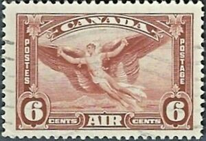 Canada    # C5   CANADA AIR MAIL STAMPS       Fine Used  1935  No Gum Issue