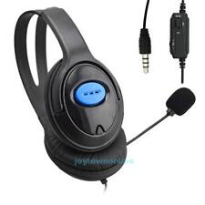 Wired Gaming Headsets Headphones with Mic for PS4 PlayStation 4/PC/Xbox 360/One