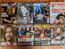 Decibel Magazine ( Lot Of 8 Issues- 2011)