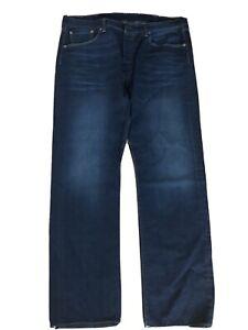 Mens Levis 501 Jeans W-38 L-32