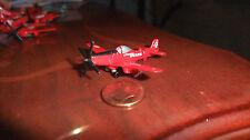 MICRO MACHINES WW2 RED/BLACK P51 P 51 MUSTANG CHERRY BOMB RACER