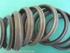 10 gros anneaux laiton massif ancien tringle rideau diamètre intérieur 6,8 cm