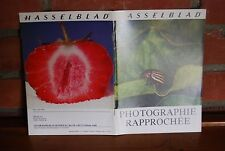 REVUE HASSELBLAD PHOTOGRAPHIE RAPPROCHEE 04/1975