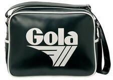 MENS GOLA CLASSICS RETRO FASHION REDFORD BAG STYLE 901 - BLACK / WHITE