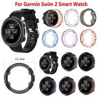 Para Garmin Swim 2 Smartwatch TPU Cover Case Protectora Funda Carcasa Estuche