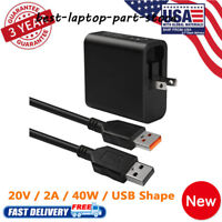 "AC Adapter Charger Power For Lenovo Yoga 900 900-13ISK 900-13ISK2 13.3"" Laptop"