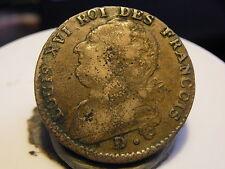2CL(12) - LOUIS XVI - 12 DENIERS - 1792 D (POINT) - RARE & DE QUALITE !