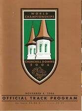 30 - 2006 Breeders Cup @ Churchill Downs programs in MINT Condition