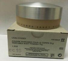 Issey Miyake L'Eau D'Issey Perfumed BODY POWDER For Women 2.6 Oz Vintage New TT