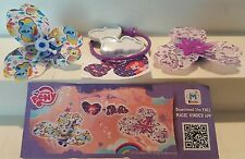 My little Pony Toys, FT108C, TR086G, TR136D, Kinder, compl. set with all Bpz