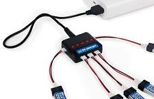 5 Port Parallel USB Multiple Charger for E-flite 1S 3.7v Li-Po Battery
