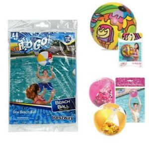 Bestway H2OGO Beach Balls - Different Sizes - Brand New in Package - NWT