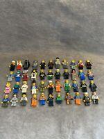 LARGE JOB LOT / BUNDLE OF MIXED LEGO MINI FIGURES 400 plus figures
