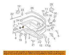MERCEDES OEM 06-09 CLK350 Convertible/soft Top-Stop Left 2097500126