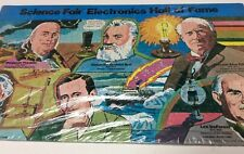 Antique Science Fair Hall Of Fame puzzle,brand new by radio shack 1976,     T586