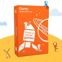 OSMO Sampler kit for iPad - 5 Hands On Learning Games Sealed NEW Box AGES 5+