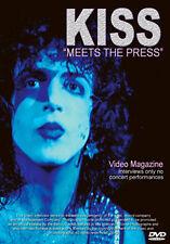 DVD:MEET THE PRESS - KISS - NEW Region 2 UK