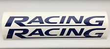 Racing 2 x logo 200mm decal graphics stickers  JDM for Ford Cars Drift Race