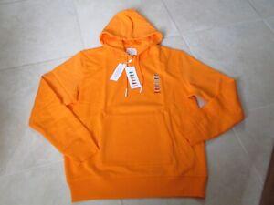 NEW LE Lacoste x Polaroid Hoodie Sweatshirt Size XL Orange $195.00