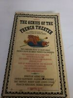 The Genius of the French Theater  - Mentor MQ366 - 1961 - 8 plays