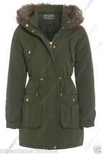 Cappotti e giacche da donna parka di pelliccia taglia 42
