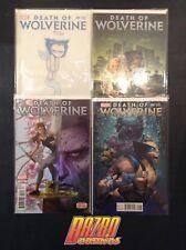 Death of Wolverine #1-4 Complete Set Young Land Variant Marvel Comics