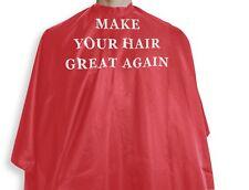 """Make Your Hair Great Again"" Premium Barber Cape"
