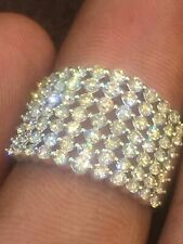 1.81 TCW Round Brilliant Cut Natural Diamonds Engagement Ring In 750 18K Gold