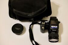Sony Cyber-shot DSC-R1 10.3MP Digital Camera w Zeiss Full Frame Lens & Macrolens