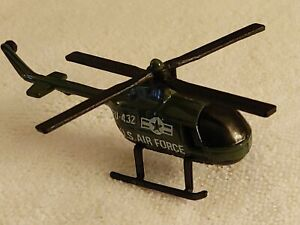 BOLD, FUN & INCREDIBLE 1:43 SCALE LIFE-LIKE HELECOPTER US AIRFORCE MODEL FU 432