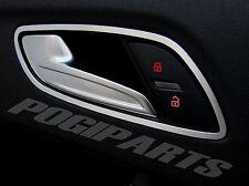Audi TT MK2 Zierrahmen Türöffner Alu R+L quattro s-line 8J TTs TTRS 3.2 3,2