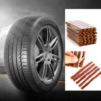 10X New Car Van Tyre Repair Tubeless Seal Strip Plug Tire Puncture Recovery Kit