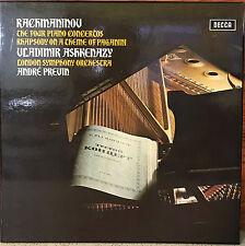 DECCA SXLF 6565/7 3 LP * TAS LIST NM * ASHKENAZY- RACHMANINOV PIANO CONCERTOS