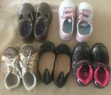 Girls Shoes Size 10 - Lot Of 5 Twinkle Toes Light Up Skechers, OshKosh, Carters