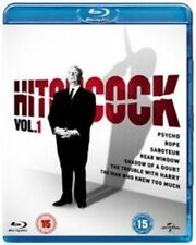 Hitchcock Volume 1 5050582958362 With James Stewart Blu-ray Region B