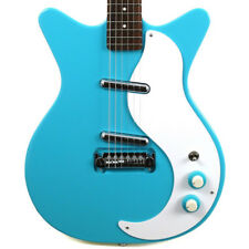 NEW DANELECTRO '59 MOD NEW OLD STOCK PLUS BABY COME BACK BLUE ELECTRIC GUITAR