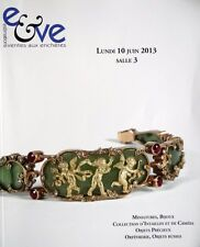 Catalogue de vente Collection d'Intaille Camee Miniature Boite objet d'art russe
