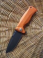 Lionsteel Knife - SR11 Orange Black
