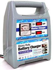 6v 12v 8AMP Car Van Boat Motor Cycle Bike Heavy Duty Battery Charger