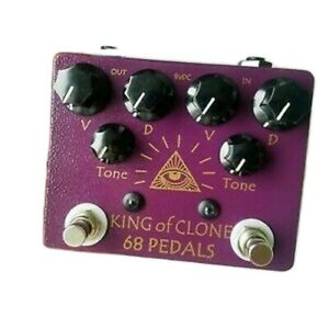 New 68pedals King of Clone Overdrive KOT V4 King of Tone