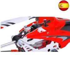 Syma-S107G Helicóptero con giroscopio, Color Rojo 5090 Rojo (Rojo)