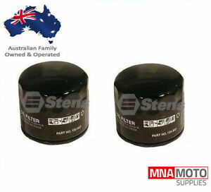 2 X STENS OIL FILTERS FOR BRIGGS AND STRATTON MOTORS 492932 , 492058
