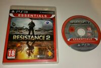 Resistance 2 Essentials FULL ENGLISH Game PS3 PAL Sony PlayStation 3 BARGAIN