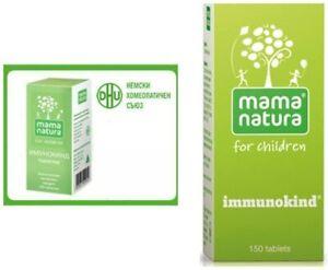 Mama Natura Immunokind 150 tbs Recurrent Infections Immune System