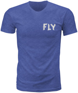 FLY RACING FLY TAPE TEE ROYAL BLUE