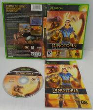 Console Game Gioco Microsoft XBOX PAL Italiano - Dinotopia The Sunstone Odyssey
