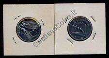 ERRORE   10 Lire 1983 Spighe ruotate FDC sig/periz.