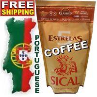 Portuguese Sical 5 Estrelas GROUND COFFEE 8.8oz 250g = Espresso Café de Portugal
